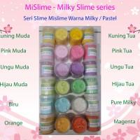 MiSlime - Milky Slime - Mainan anak kekinian warna pastel