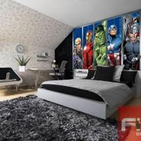 wallpaper untuk dinding kamar tidur