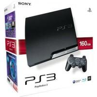 Ps3 Slim Sony + Hdd 160gb + Bonus 17 Games