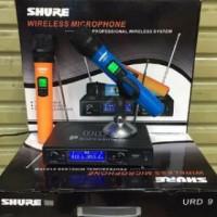 mic wireless Shure URD 9 desain Fashion