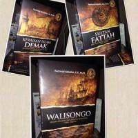 Buku Trilogi Revolusi Islam - Walisongo, Sultan Fattah, Kerajaan DEMAK