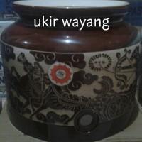 harga Guci Air/Guci Keramik/Guci Galon Motif Ukir Tokopedia.com