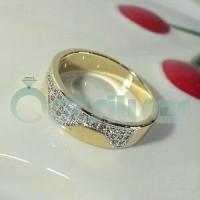 cincin palladium, perak, sepasang, nikah, kawin, tunangan, cpl643
