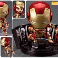 ORIGINAL Nendoroid Iron Man Mark 42 w/ Hall of Armor, NEW & VERY RARE