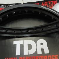 harga Velg Tdr W-shape 160/185-17 hitam Tokopedia.com