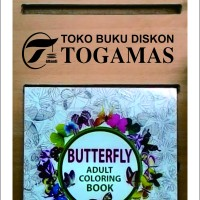 Jual Coloring Book Butterfly