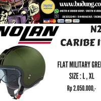 harga Helm nolan n21 caribe 17 flat military green Tokopedia.com