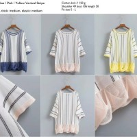 Vertical Stripe Blouse - 40714