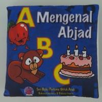 Jual Buku Bantal Kain Softbook Bayi Mengenal Abjad Murah