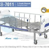 ACARE Hospital Bed Ranjang Pasien 1 CRANK Manual