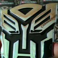 Jual Emblem Transformers Autobots / Transformer Autobot Chrome Murah