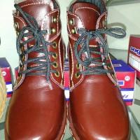 Sepatu boot kulit asli magetan
