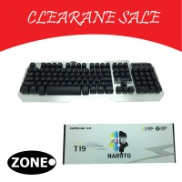 Zornwee Keyboard Gaming - Keyboard Gaming - Gaming Keyboard Naruto T19