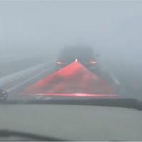 Car Laser Fog Tail Stop Lamp Universal Lampu Stop Lamp Motor Mobil