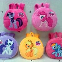 harga Tas Ransel Bulat boneka Kuda Poni My Little Pony Import Tokopedia.com