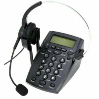 telepon/telephone operator dialpad call center+Headset#best produk