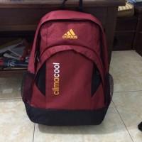 Tas Ransel Adidas / Tas Punggung Ransel Sekolah Kuliah Laptop Olahraga