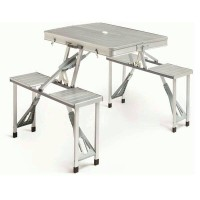 harga Meja Piknik Lipat Portable / Folding Picnic Table / meja kursi lipat Tokopedia.com