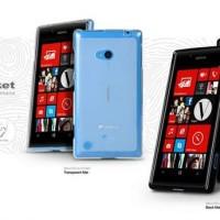 MELKCO Case Poly Jacket Nokia Lumia 720 - Black ORIGINAL