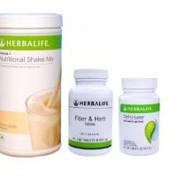 harga herbalife#shake#original#herbalifee (  PAKET: VANILA+FIBER+CELL U LOSS Tokopedia.com