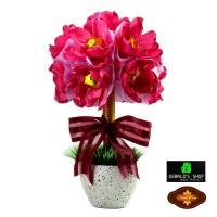 Jual Chocolate Bouquet / Buket Bunga Coklat Unfading Love / Kado Murah