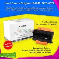 Head Printer Canon iP4600 iP4680 iP4700 iP4760 MP630 MP640 Original