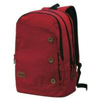 Jual tas ransel kanvas laptop/punggung sekolah kuliah kerja pria & wanita Murah