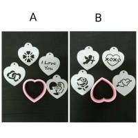 harga Cake Stencil Heart Tokopedia.com