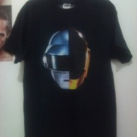 Daft Punk - Split Helm with Gildan T Shirt