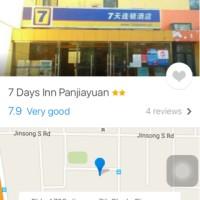 Voucher Hotel 7 days inn panjiayuan beijing 3-6 Agustus 2016