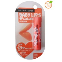 Maybelline Lip Balm Baby Lips Loves Color Coral Flush 100% Original