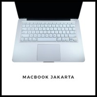 Keyboard Protector Macbook Pro 13 Inch White