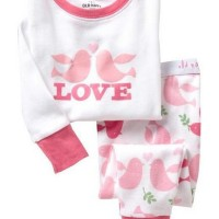 harga Piyama GAP Love Bird Pink Tokopedia.com