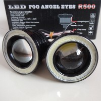 FOGLAMP Angel Eyes Super Bright 76mm Medium