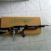 harga senapan angin Sharp River AK Hitam Putih Tokopedia.com