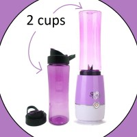Jual [2cup] shake and take generasi 3 color warna warni 2 tabung gelas Murah