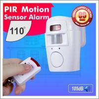 harga Pir Motion Sensor Alarm, Dual Remote ( Sensor Gerak ) Tokopedia.com