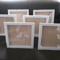 Bingkai Foto 3D 30x30 cm Putih