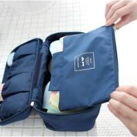 Korea Organizer Travel Underware Pouch Tas Tempat Pakaian Dalam CD BH