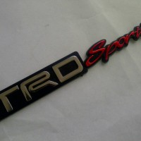 Emblem TRD Sportivo Toyota/Logo Fortuner,Rush,Yaris,Innova,Avanza,Agya
