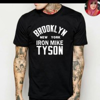 T-SHIRT BROOKLYN IRON MIKE TYSON(ONLY SIZE S,M,L,XL) TEES002