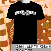 Jual Kaos Pakaian Baju Persija - Persija Jakarta Murah