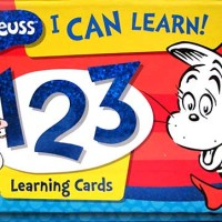 Dr.Seuss I Can Learn 123 Learning Cards (FLASH-SEUSS-ICL-123) Price Rp