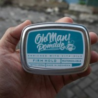 NEW OHMAN POMADE WATERBASED NUTRI BLUE