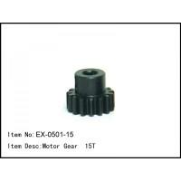 EX-0501-15 Motor Gear 15T mod1 Shaft 5mm Baja