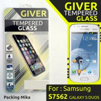 TEMPERED GLASS GIVER SAMSUNG S7562 GALAXY S DUOS