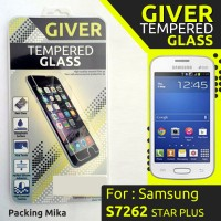 TEMPERED GLASS GIVER SAMSUNG S7262 GALAXY STAR PLUS