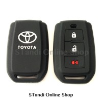 Kondom Kunci Silikon Remote Toyota All New Avanza Hitam