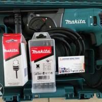 Makita HR 2470 - Rotary Hammer Set Komplit Free Ransel