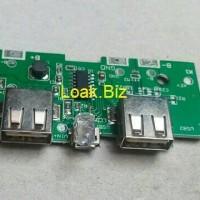 SparePart Powerbank - Modul dengan 2 Slot USB